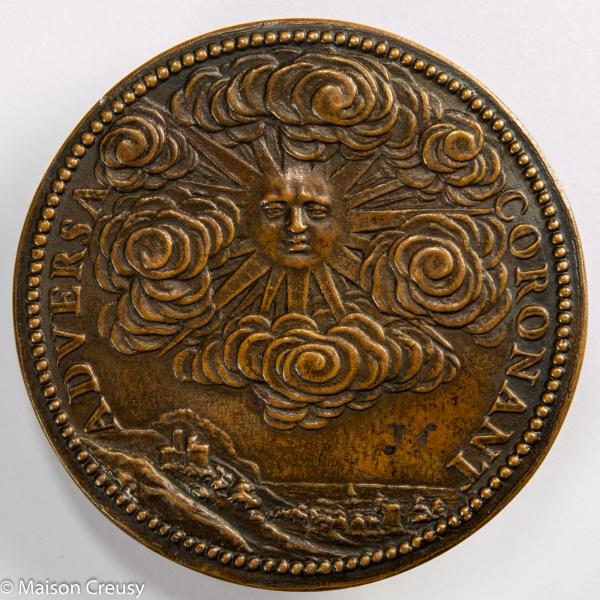 Medaille du Marechal de Toyras par Guillaume Dupré