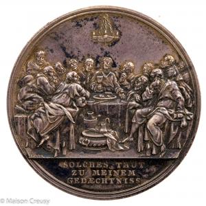 Medaille en argent allemande par Loos