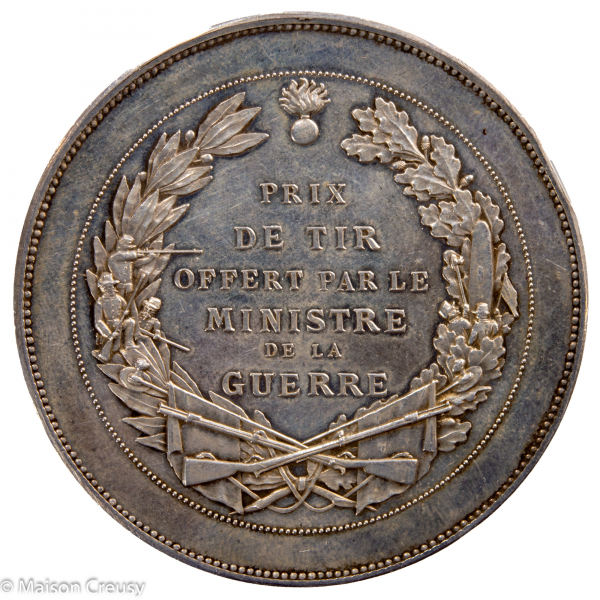 Medaille argent prix de Tir