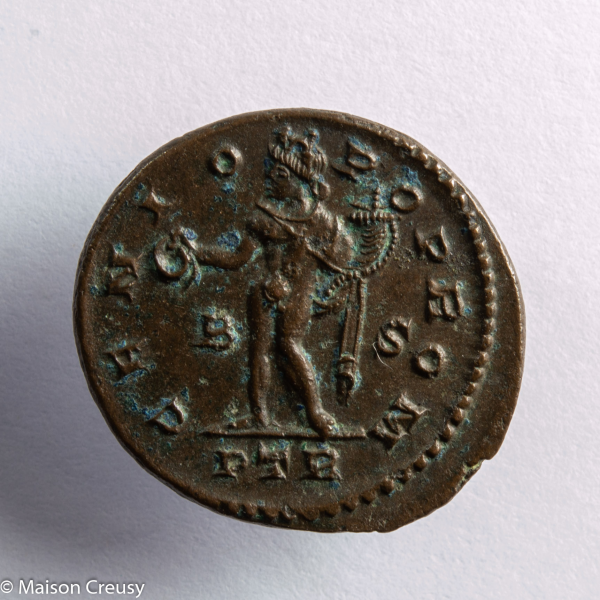 Licinius follis frappé à Treves