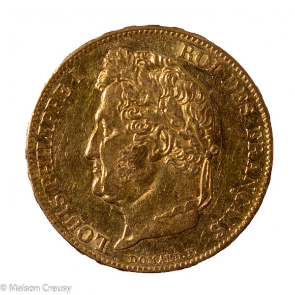 Louis Philippe 20 francs 1841 Paris