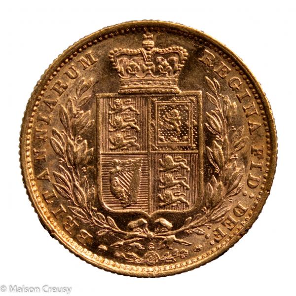 Australie souverain 1883 Sydney PCGS AU58