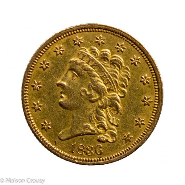 USA 2,5 dollars 1836