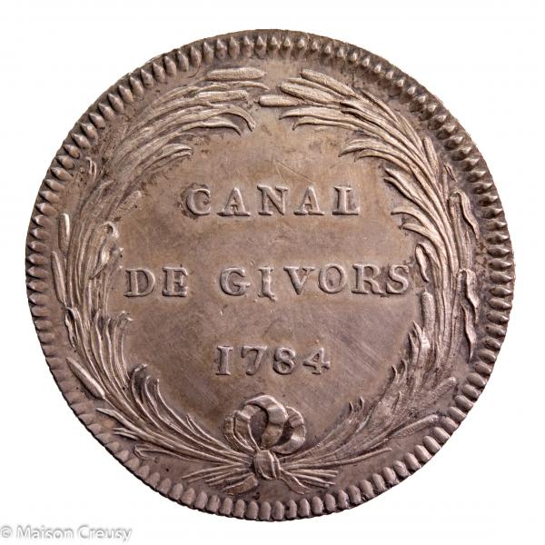 Jeton Canal de Givors 1784