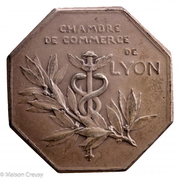 Jeton de la chambre de commerce de Lyon par Roty