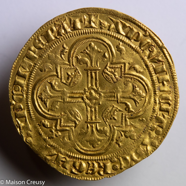 Philippe VI de Valois double d'or