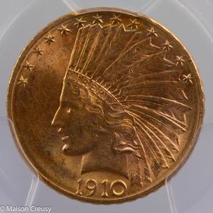 USA 10 dollars 1910-D PCGS MS63