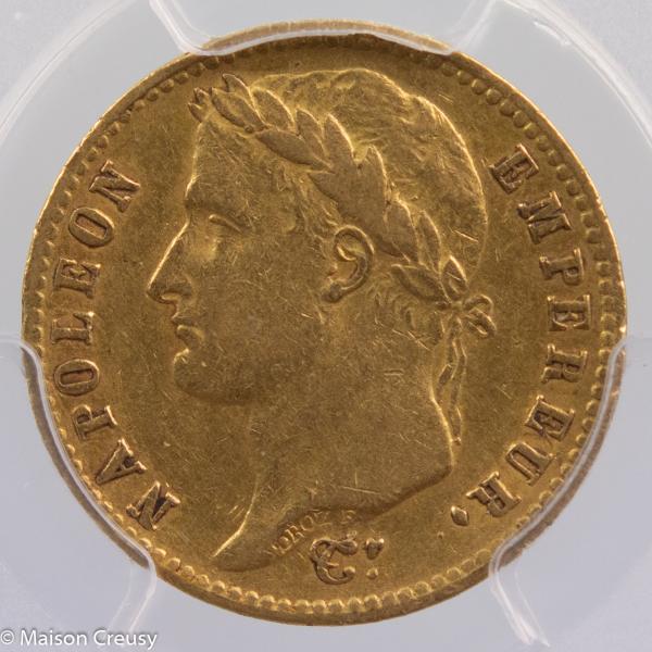 Napoleon I 20 francs 1812 Bayonne PCGS XF45