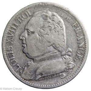 LouisXVIII5francs1815MA