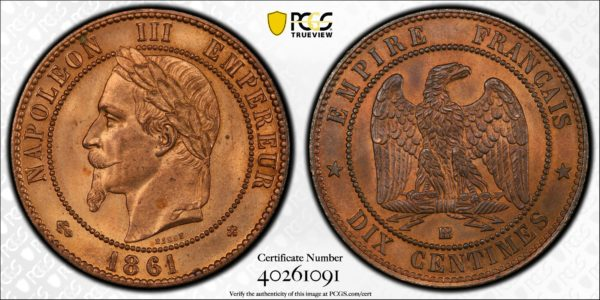 PCGS-TrueView10cents1861